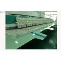 1000 SPM High speed lace Embroidery machine , 44 Head 6 Needle Embroidery Equipment Manufactures