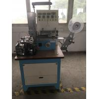 Automatic High Speed Ultrasonic Automatic Labeling Machine For Ribbon , Belt Cutting Manufactures