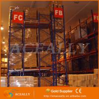 Heavy Duty Push back pallet racking systems Manufactures