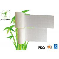 Eco Friendly White Bamboo Diaper Liners Customized Color Available 30-60 gsm Manufactures