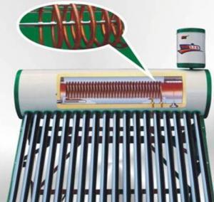 Split pressurized super heat pipe solar vacuum collector Manufactures