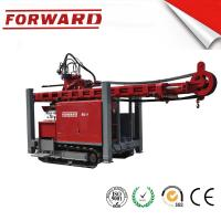 Cheap Crawler Mounted Hydraulic Mud / Water Borehole Drilling Rig 420 Mm Maximum Diameter Drilling Hole for sale