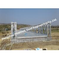 High Performance Temporary Galvanized Surface Steel Bailey Bridge with Heavy Load Capacity Manufactures