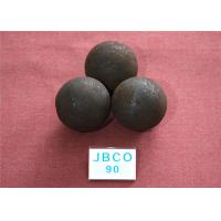 D90mm Grinding Steel Balls High Core Hardness 59-60hrc with Round Steel Bar Material