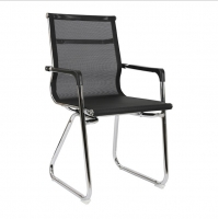 Mesh Knock Down 100CM Swivel Office Chair Without Wheels Manufactures