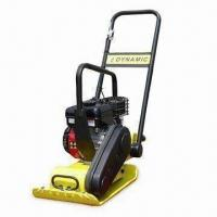 China Plate Compactor with Optional Transport Wheel and 5,800vpm Vibration Frequency on sale