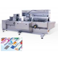 High Speed Fully Automatic Cartoning Machinery , Medicine / Food Box Packing Machine