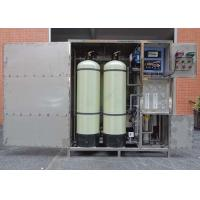 Fully enclosed 500LPH RO Water Treatment System Water Purifier Filter Manufactures