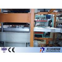 Fully Automatic Vacuum Forming Machine For Fast Food Box 3-5 S/Mould Working Speed Manufactures