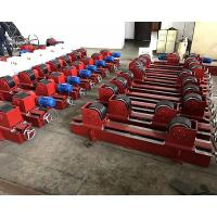 Buy cheap Conventional Tank Turning Rolls , 5 Ton Welding Rotator Stands Lead Screw from wholesalers
