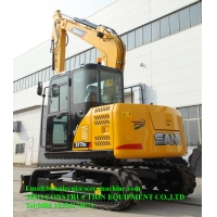 0.28 m3 7T Hydraulic Crawler Excavator Digging Machine Manufactures