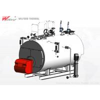 High Safety Gas Fired Steam Boiler , Energy Efficient Steam Boilers Multi Chain Protection Manufactures
