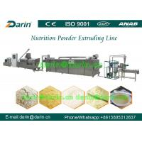 China CE certificate Rice Powder making machine , food extrusion equipment on sale