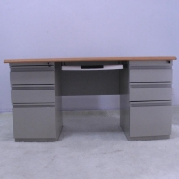1400mm Computer Desk With File Cabinet Manufactures