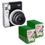 Black Fuji Fujifilm Instax mini 90 Neo / Classic Polariod Instant Camera Manufactures