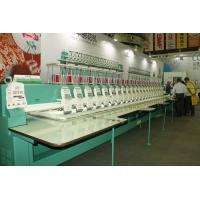 22 Heads High speed Embroidery Machines 9 needles 1200RPM for Garment / Curtain / Home textile Manufactures
