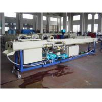 China Professional Plastic Pipe Extrusion Line , PE Twin Pipe Extrusion Production Line on sale