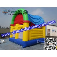 CE Certificated Inflatable Bouncy Castle , Kids Inflatable Bouncer With Slide Manufactures
