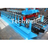 0-15m/min Forming Speed Cold Roll Forming Machine With Sheet Left And Right Traverse Movement Manufactures