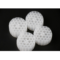 White Color Hdpe Material 38 Holes MBBR Carrier Virgin PE Manufactures