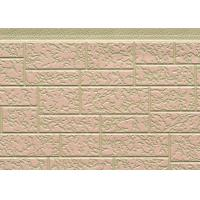 Customized Color Steel Polyurethane Foam Sandwich Panels For Exterior Wall Manufactures