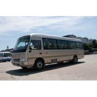 Buy cheap Front Engine Coaster Minibus Sightseeing Passenger Vehicle 410Nm /1500rpm Torque from wholesalers