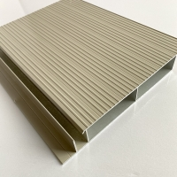 Mill Finish Painting Powder Coated Aluminum Extrusions Manufactures