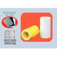 Thick 0.5mm Semi Transparent Polystyrene Thermoforming Plastic Sheet Rolls Manufactures