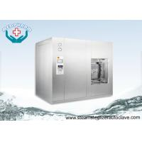 Floor Stand Automatic Autoclave Steam Sterilizer With Pulsating Pre-vacuum And Post Vacuum Phase Manufactures