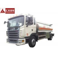 Advanced Chassis Fuel Delivery Truck Light Tare Weight With Anti - Electro Static Pole Manufactures