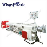 PVC Conduit Pipe Making Machine 16-40mm, Electrical Conduit System PVC Duct Extrusion Line Manufactures