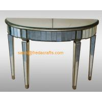China supplier venetian mirrored furniture console table/end table Manufactures