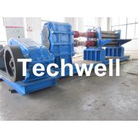 Heavy Duty Steel Corrugated Roll Forming Machine 48Kw with Gimbal Gearbox Drive Manufactures