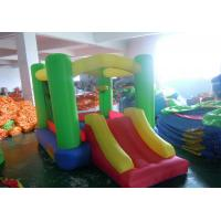 Oxford fabric inflatable house small bounce for kids with slide Manufactures