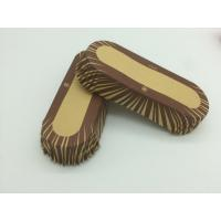 Oilproof Boat Shaped Paper Baking Cups Brown Cupcake WrappersMuffin Eco Friendly Manufactures
