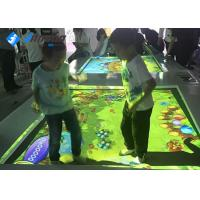 Trampoline Interactive Floor Projector With One Camera Wireless Mouse Keyboard Manufactures