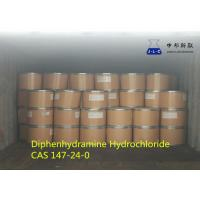 Diphenhydramine Hydrochloride 147-24-0 Raw Materials For Pharmaceutical Industry Manufactures