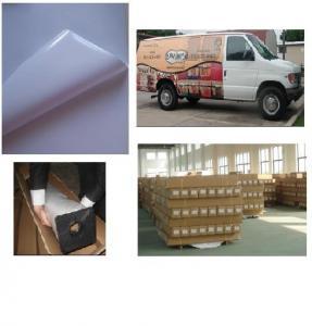 hot sale self adhesive white vinyl wraps Manufactures