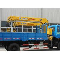 Cheap Durable Safety XCMG Transporting Telescopic Boom Truck Mounted Crane, 13m Height for sale