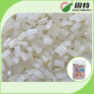 Cheap EVA White Hot Melt Adhesive Pellets Semi Transparent For Carton Sealing for sale