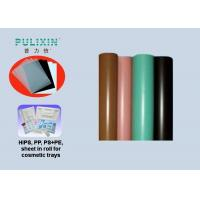 Transparent Composite PE Polystyrene Plastic Sheet Roll For Thermoforming Package Manufactures