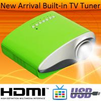 Best Quality HDMI MHL LED Projector Built In Anlog TV Tuner USB VGA For Home Movie Using Manufactures