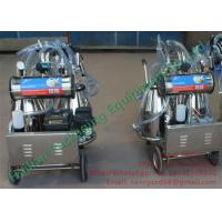 China Small Dairy Farm Machinery Cow Mobile Milking Machine Automatic Milking on sale
