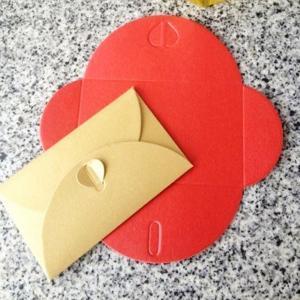 China 2015 Custom hotel key card envelopes on sale