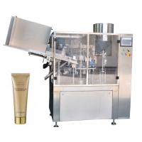 Small Capacity Cosmetic Filling Machine Plastic / Aluminum Tube Filling And Sealing Machine Manufactures