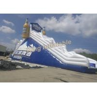 OEM/ ODM Giant PVC Inflatable Dry Slide For Advertising Or Event Manufactures