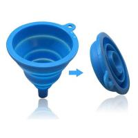China Filter Tool Silicone Rubber Funnel,Dropping Funnel,Cooking Funnel Any Customized Color on sale