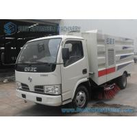 4x2 Dongfeng Sanitation Truck , 5000L 2000KG Street Cleaner Truck Manufactures