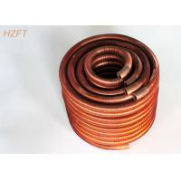 Cheap Integral Water Heater Finned Coil Heat Exchangers / Finned Coil for sale