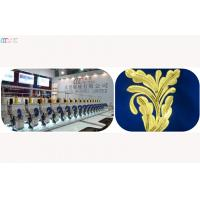 Automatic Mixed multi needle single sequin embroidery machine , 1000RPM Manufactures